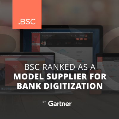 Another Czech banking software success: BSC ranked by Gartner as a model supplier for bank digitization